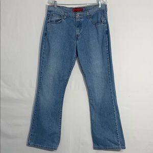 Levi's 515 Nouveau Boot Cut Stretch Jeans - Sz 14M